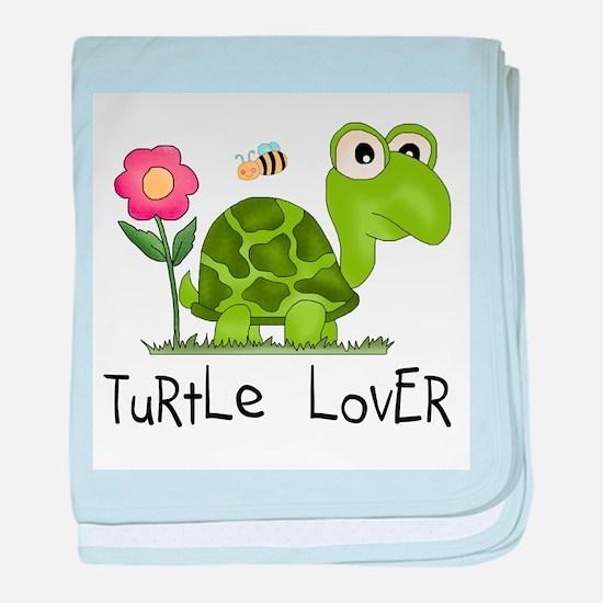Turtle Lover Infant Blanket