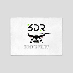 Drone pilot 5'x7'Area Rug