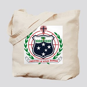 Western Samoa Coat of Arms Tote Bag
