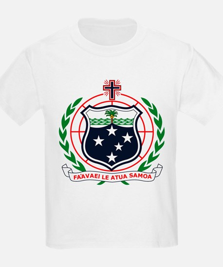 Western Samoa Coat of Arms Kids T-Shirt