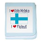 Finland and Kala Mojaka Infant Blanket