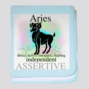 Aries the Ram Infant Blanket