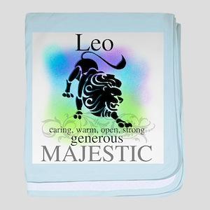 Leo the Lion Zodiac Infant Blanket