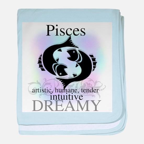 Pisces the Fish Infant Blanket