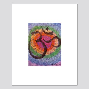 Soothing Chakra inspired Om Small Poster
