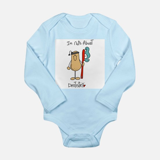 Nuts About Dentistry Long Sleeve Infant Bodysuit