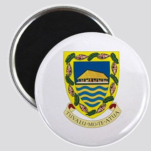 "Tuvalu Coat of Arms 2.25"" Magnet (10 pack)"