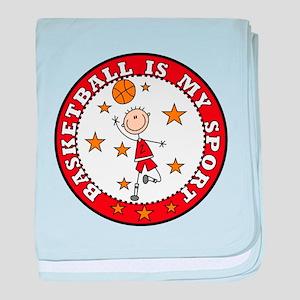 Basketball My Sport Infant Blanket