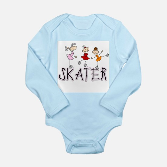 Skater Long Sleeve Infant Bodysuit