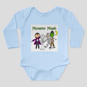 Monster Mash Long Sleeve Infant Bodysuit