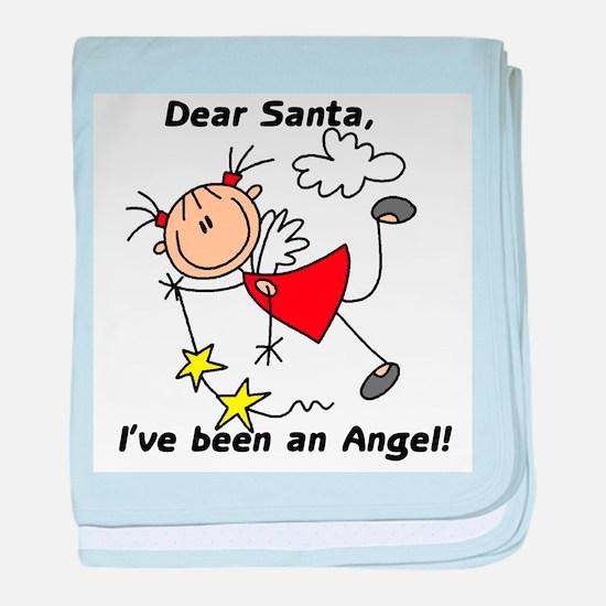 Dear Santa Holiday Infant Blanket