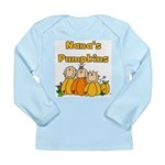 Nana's Pumpkins Long Sleeve Infant T-Shirt