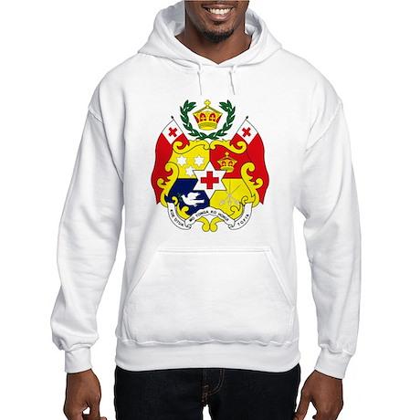 Tonga Coat of Arms Hooded Sweatshirt