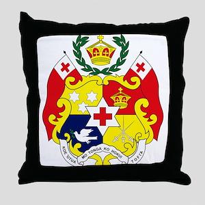 Tonga Coat of Arms Throw Pillow