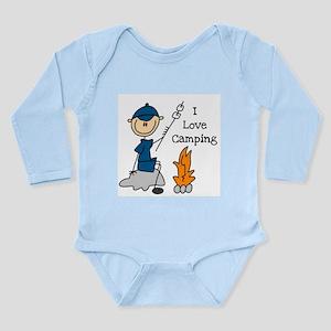 I Love Camping Long Sleeve Infant Bodysuit