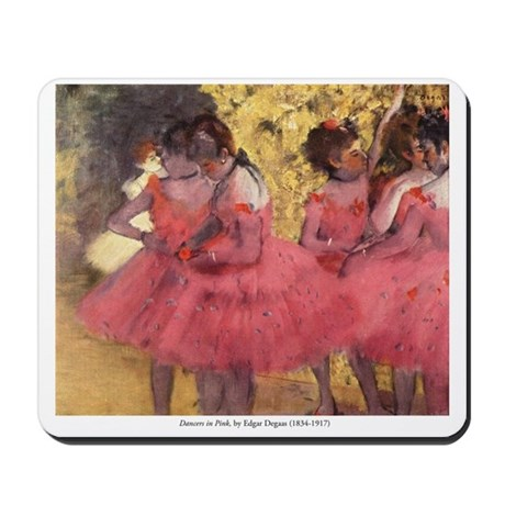 Dancers in Pink Mousepad