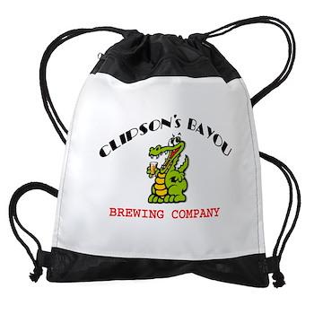 CBBC 10 8 ALLIGATOR GLASS Drawstring Bag