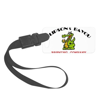 CBBC 10 8 ALLIGATOR GLASS Luggage Tag
