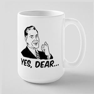 Yes Dear Large Mug
