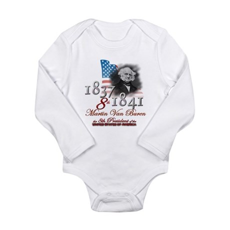 8th President - Long Sleeve Infant Bodysuit