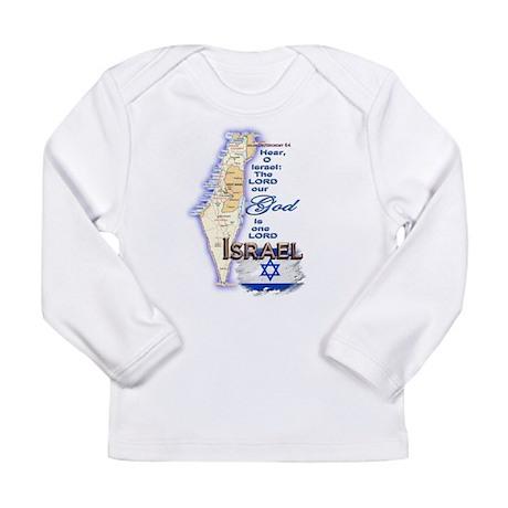 Deuteronomy 6:4 - Long Sleeve Infant T-Shirt