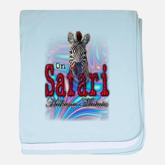 On Safari - Infant Blanket