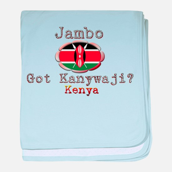 Jambo, Got Kanywaji? - Infant Blanket