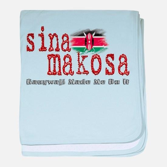 Sina Makosa - Infant Blanket