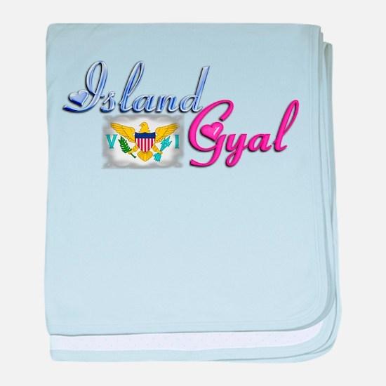 USVI Island Gyal - Infant Blanket