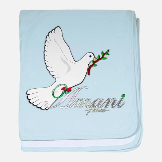 Amani - Peace - Infant Blanket