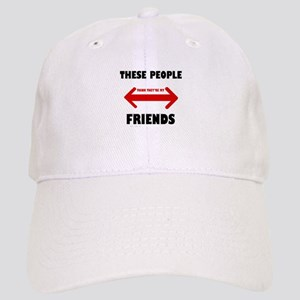 NOT FRIENDS Cap
