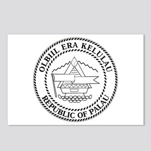 Palau Coat of Arms Postcards (Package of 8)