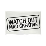 Mad Creative Rectangle Magnet