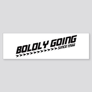 Boldly Going Sticker (Bumper)
