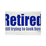 Retirement Rectangle Magnet (100 pack)