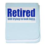 Retirement Infant Blanket