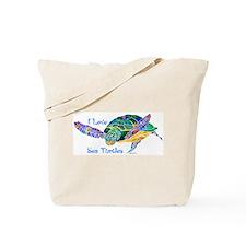 I Love Sea Turtles 2 Tote Bag