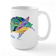 I Love Sea Turtles 2 Large Mug