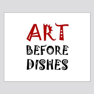 Art Before Dishes Posters