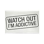 I'm Addictive Rectangle Magnet (10 pack)
