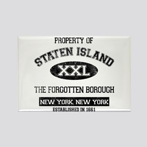 Property of Staten Island Rectangle Magnet