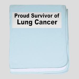 Proud Survivor Infant Blanket
