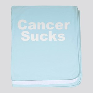 Cancer Sucks Infant Blanket