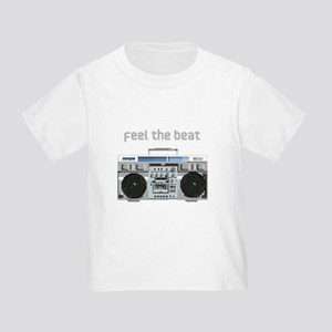 Feel the Beat Toddler T-Shirt