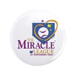 """Miracle League of Northwest O 3.5"""" Button (100 pac"""