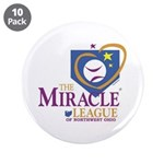 """Miracle League of Northwest O 3.5"""" Button (10 pack"""