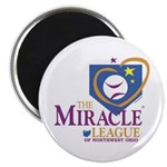 """Miracle League of Northwest O 2.25"""" Magnet (1"""
