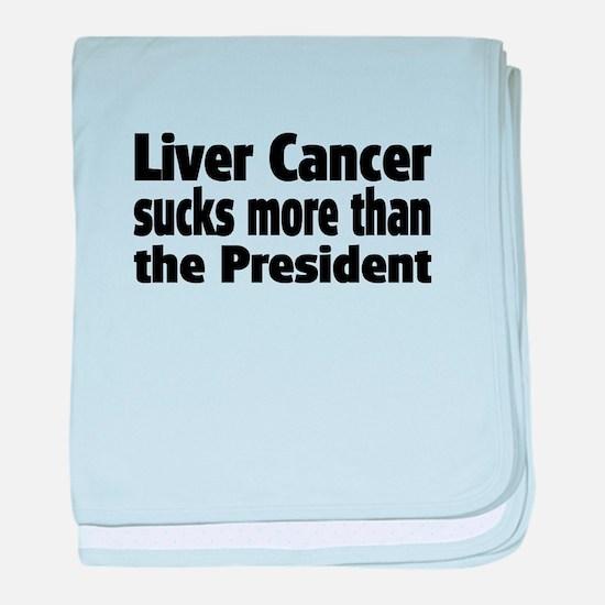 Liver Cancer Infant Blanket