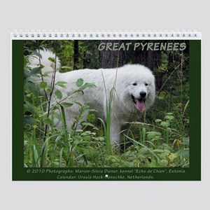 Great Pyrenees Wall Calendar #1