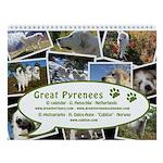 Great Pyrenees Wall Calendar #2